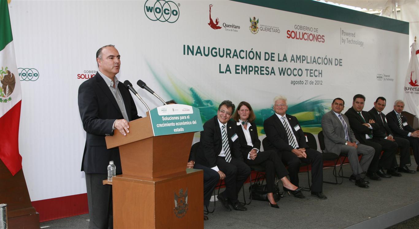 Inaugura El Gobernador De Quer 233 Taro La Ampliaci 243 N De Woco