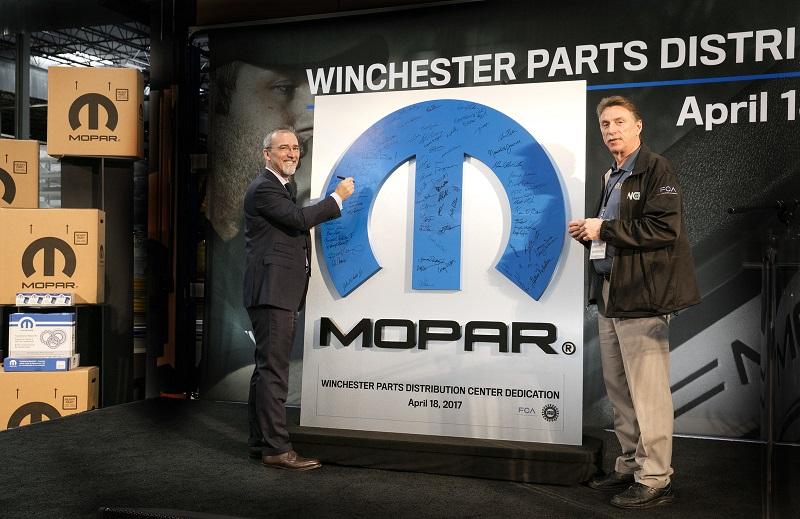 Fca us inaugura un nuevo mopar parts distribution center for Mercedes benz parts distribution center