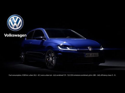 Embedded thumbnail for Volkswagen Golf R with performance options