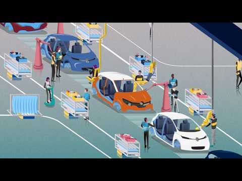 Embedded thumbnail for The future in Renault plants | Groupe Renault