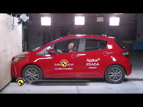 Embedded thumbnail for Euro NCAP Crash Test of Toyota Yaris