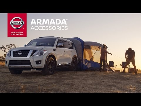 Embedded thumbnail for 2017 Nissan Armada Accessories   Expand The Possibilities