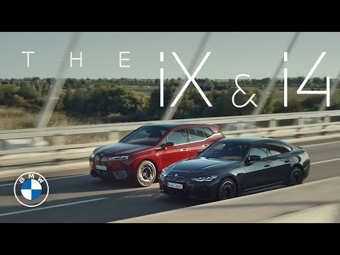 """Embedded thumbnail for """"The power of action."""" The first-ever BMW iX and the first-ever BMW i4"""