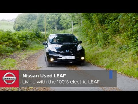 Embedded thumbnail for Nissan Used Leaf: living with the 100% electric Leaf