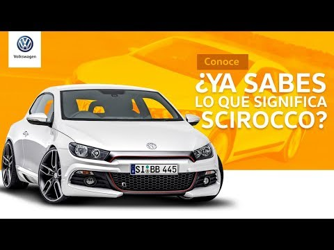 Embedded thumbnail for ¿Ya sabes que significa Scirocco? | Volkswagen México