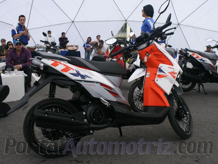 Lanza yamaha su scooter ttx for Yamaha ttx adventure scooter for sale