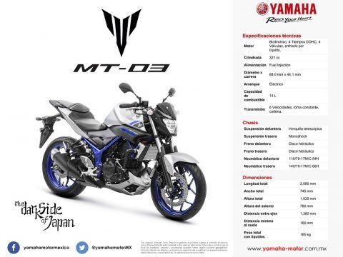 Yamaha enriquece su portafolio en México con la nueva MT