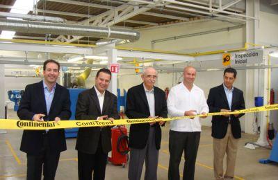 Inaugura Continental planta de renovado en San Luis Potosí