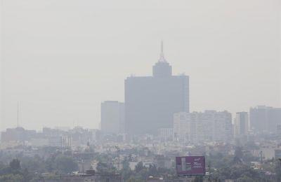 Vista de la contaminación en Ciudad de México.