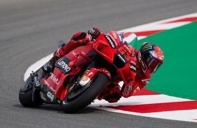 El piloto italiano de Moto GP Francesco Baganaia.