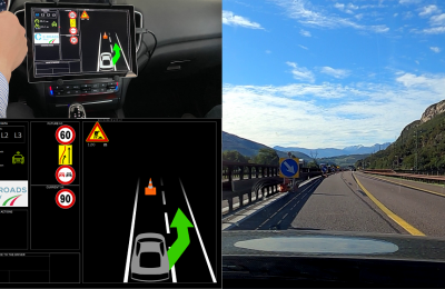 Proyecto C-Roads Italia: carreteras digitales que admiten la conducción autónoma de nivel 3 conectada