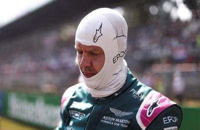 El piloto alemán de Fórmula Uno, Sebastian Vettel, en el circuito italiano de Monza el pasado domingo.