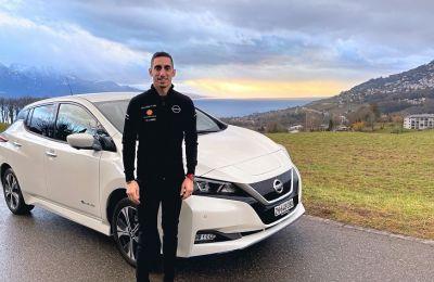 Al ser embajador global de la marca y actual piloto de Fórmula E de Nissan, los vehículos eléctricos son una parte muy importante de la vida profesional y familiar de Sebastien.