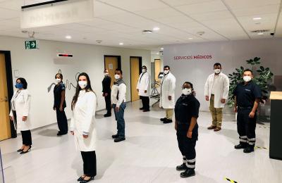 Audi México cuenta con personal médico altamente capacitado