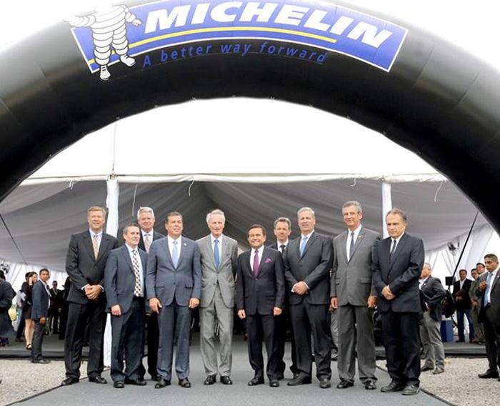 Michelin inicia la construcción de su segunda planta en México