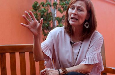 Fotografía fechada el 05 de diciembre de 2021 de la secretaria mexicana de Economía, Tatiana Clouthier. EFE/Francisco Guasco/Archivo