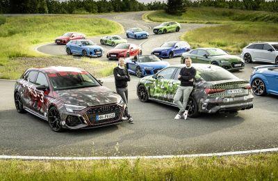 La gama de modelos de Audi Sport GmbH es la más amplia de toda su historia