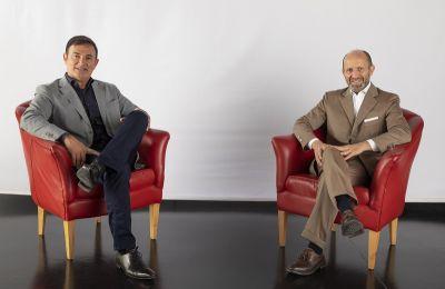 Luca Napolitano y Jean-Pierre Ploué