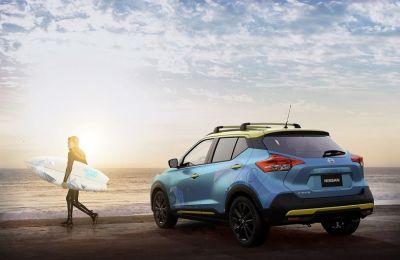 Nissan se inspiró en la pasión por el surf y en las famosas playas de América Latina para desarrollar Kicks Surf Concept.