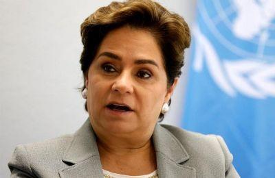 Patricia Espinosa, Secretaria Ejecutiva de la CMNUCC.