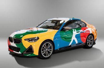 Convierten al nuevo BMW Serie 2 Coupé nacido en México en una obra de arte