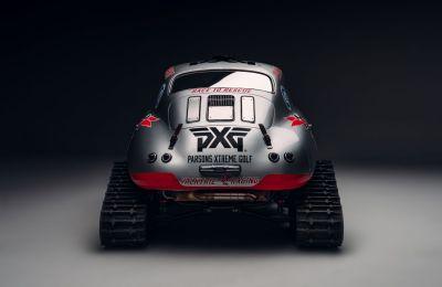El 356 Porsche de Valkyrie Racing se transformó en una bestia liviana para la nieve en preparación para la Misión Antártica 2021